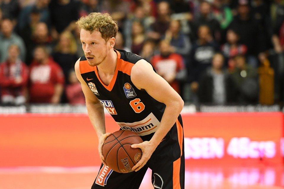 Per Günther erzielte seine einzigen beiden Punkte erst im Schlussviertel.