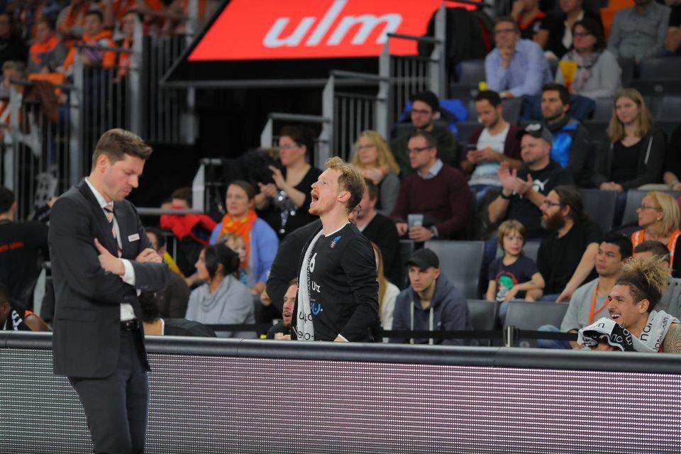 Yes, Sir! Per Günther lässt seiner Freude freien Lauf.  Foto: Florian Achberger