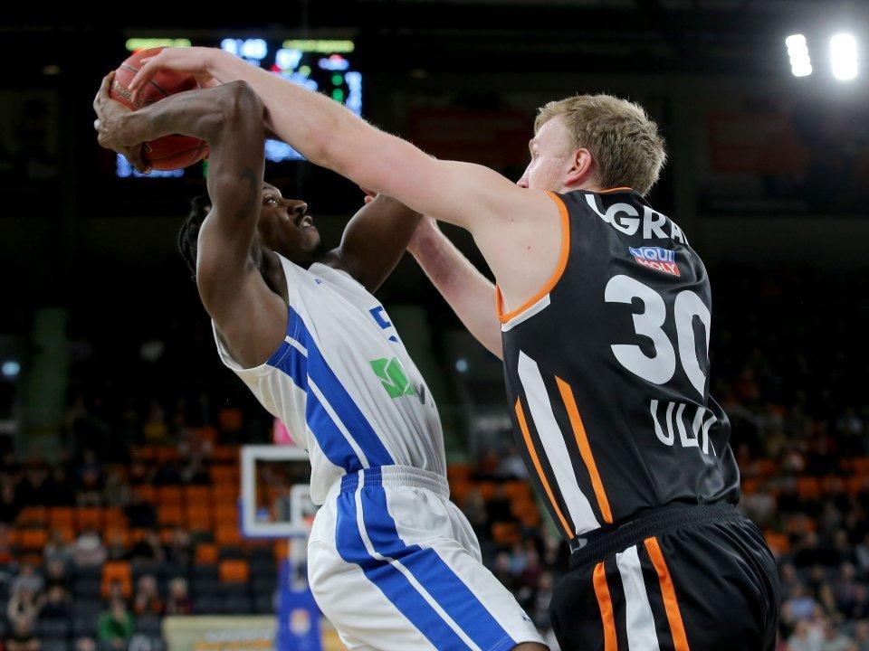 Ohne Punkte aber mit wichtigen defensiven Aktionen: Max Ugrai. Foto: Harry Langer
