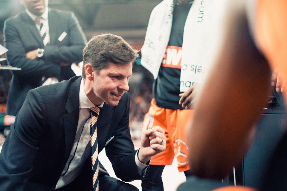 Sehr schwer aber nicht hoffnungslos - so beschreitbt Head Coach Thorsten Leibenath die Aufgabe in Lyon. Foto: Patrick Hörnle