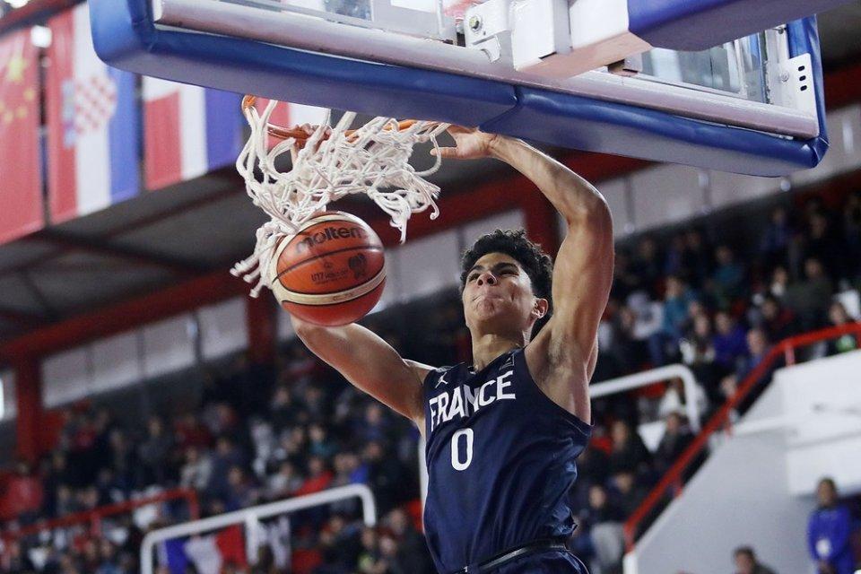 Französischer Juniorennationalspieler: Killian Hayes. Foto: FIBA