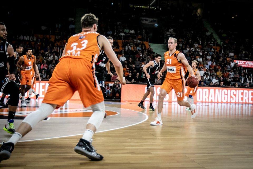 Viel Bewegung und Aggressivität will Coach Lakovic auch von Patrick Heckmann und Seth Hinrichs sehen.  Foto: Tobias Ockerländer