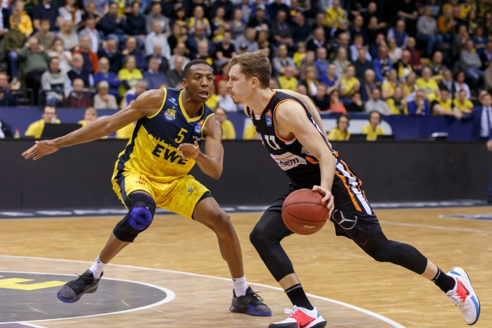 Andreas Obst mit sarker Defensive und Big Shots am Ende. Foto: Andreas Burmann